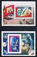 Guinea - Soviet Space Program - 2 x MNH Block