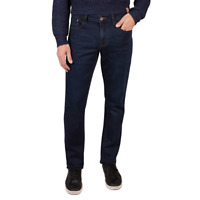 NEW Men's Weatherproof The Dillon Dark Wash Blue Stretch Comfort Classic Fit