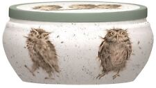 Royal Worcester Wrendale Fragrance Warm and Whimsical What a Hoot Tin Candle