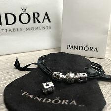 NEW PANDORA Silver Bracelet & 2 x Seeing Stars Openwork Charms 100%Genuine