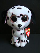 """NWT TY Beanie Boos 6"""" GEORGIA Dalmation Dog Boo Claire's Exclusive Sparkly NEW"""