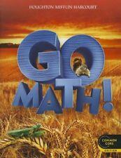 Go Math! Grade 2 Common Core Edition by HOUGHTON MIFFLIN HARCOURT