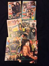 Kiss Strike & Kiss Hits Magazine Lot Vintage 90's Simmons Stanley Carr Kulick