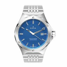 Edox 530053MBUIN Men's Delfin blue Quartz Watch