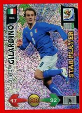 SOUTH AFRICA 2010 - Adrenalyn Panini - Card Star Player - GILARDINO - ITALIA