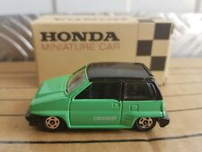Tomica - Honda City Turbo II Cabriolet [GREEN] RARE / NEAR MINT MADE IN JAPAN
