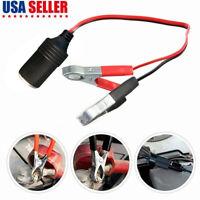 Portable Car Cigarette Lighter Female Socket Adapter Plug 12V Connector Cable US