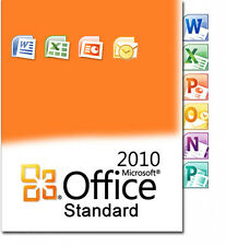 Key Suitable for Microsoft Office 2010 Standard 1 PC 32/64 Bit Full Version