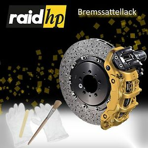 raid hp Bremssattel Lack 350007 GOLD Metallic 6 - teilig