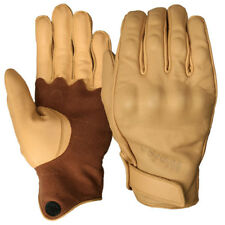 Weise Victory Tan Leather Motorcycle Gloves  XL