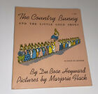 The Country Bunny And The Little Golden Shoes,1967 VINTAGE Softcover; Children