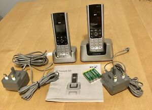 BT FREESTYLE 310 TWIN Digital Cordless Phones with Instructions. New but no box
