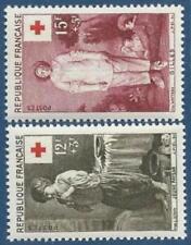 P49-Timbres France 1956, 1089-90 ** sans charnière (voir scan), TB, cote 7,10€