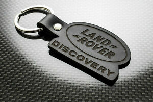 Handmade Leather Keychain Keyring for Land Rover Discovery