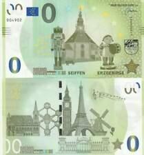 Biljet billet zero 0 Euro Memo - Seiffen Erzgebirge (087)