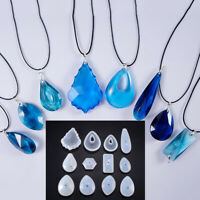3D Pendant Halskette Schmuck Schimmel Crystal Harz-Epoxid Form DIY Making Tool