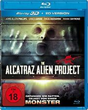 THE ALCATRAZ ALIEN PROJECT (UNCUT) 3D blu ray ( includes 2D ) ( NEW )