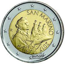 Pièce 2 euros annuelle SAINT MARIN 2017 - Le Saint Marin - Nouvelle Effigie