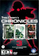 TOM CLANCYS CHRONICLES 3 GAMES IN ONE (PC)