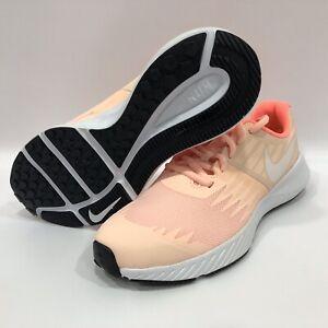 Nike Star Runner Girls 907257-800 Crimson Tint Sz 6Y/women's 7
