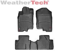WeatherTech FloorLiner Mat for Honda Insight - 2010-2014 -1st/2nd Row - Black