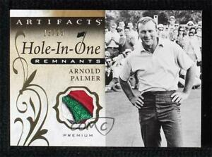 2021 Upper Deck Artifacts Hole-in-One Remnants Premium 13/25 Arnold Palmer Patch