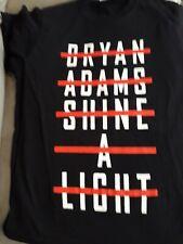 Bryan Adams 2019 Tour T Shirts small