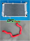 Aluminum Radiator For Suzuki TL1000S TL 1000S 1997-2001 98 99 00 01+red HOSE