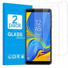2x Samsung Galaxy A7 2018 Schutzglas Panzerfolie Displayschutzfolie 9H Hartglas