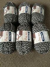 Patons Lite Inca 6x50g 8ply Dark Grey Tones