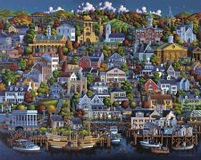 Jigsaw puzzle Explore America Plymouth Massachusetts NEW 1000 piece Made in USA