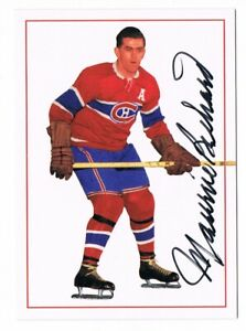 1994-95 Parkhurst Parkies Missing Link Autograph #A-2 Maurice Richard 112/956