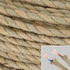 Braided Rope Wire Electrical Cable For Edison Lamp Rope Vintage Sale Brand New
