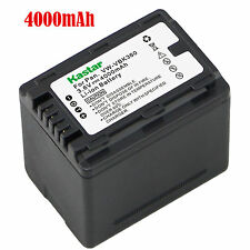 1x Kastar Battery for Panasonic VW-VBK360 SDR-H100 SDR-H101 SDR-H85 SDR-T50