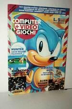 RIVISTA COMPUTER+VIDEOGIOCHI NUMERO 8 SETTEMBRE 1991 USATA ED ITA VBC 50479