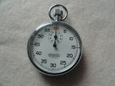 Swiss Made Sportex 7 Jewels Vintage Mechanical Wind Up Stopwatch