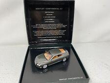 1:43 Minichamps Bentley Continental GT Titanium Cypress Dealer Edition BL313