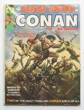 The Savage Sword of Conan No. 1 FN/VF Comic Book Magazine 1974