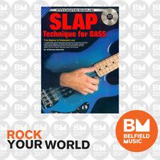 Progressive Books 18316 Slap Bass Book & CD - Brand New