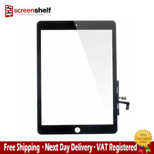 Apple iPad Air Touch Glass Screen Digitizer IC Assembly Home Button - Black