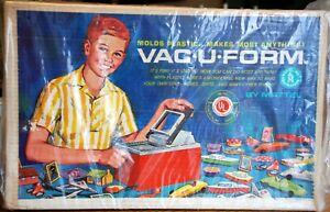 Vintage Mattel Vac-U-Form 422 Toy Maker Molds Plastic 1962 Vacuform O S HO