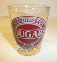 WSU Cougars Shot Glass - Washington State University Mini Toothpick Holder WA