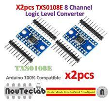 2pcs TXS0108E 8 Channel Logic Level Converter TTL 3.3V 5V Bi-directional Convert