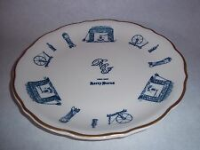 "Syracuse China Restaurant Ware - Large Dinner Plate -""BCJ"" Your Host Harry Burns"