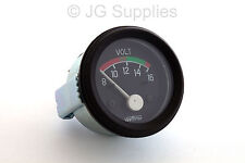 "Classic Car 12v 2"" 52mm 8-16 voltmeter gauge 160695  220845"