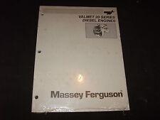 MASSEY FERGUSON VALMET 20 SERIES DIESEL ENGINE SERVICE SHOP REPAIR MANUAL