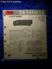 Sony Service Manual TA F444ESII Amplifier  Amplifier (#1311)