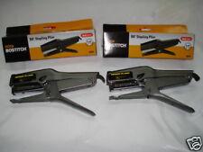 LOT OF 2 STAPLER B8 PLIER STANLEY BOSTITCH STAPLE GUN