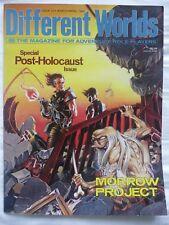 DIFFERENT WORLDS #33 (1984) Morrow Project/RuneQuest/Traveller/V&V • VG+