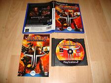 QUAKE III 3 REVOLUTION DE ID SOFTWARE - EA GAMES PARA LA SONY PS2 USADO COMPLETO